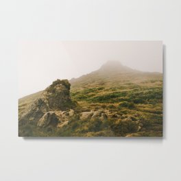Misty Monoliths Metal Print