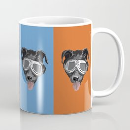 Goggles McGee - Dog With Goggles Coffee Mug