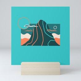 Line Scapes 5 Mini Art Print