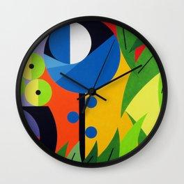 Flowers - Paint Wall Clock