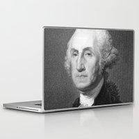 washington Laptop & iPad Skins featuring George Washington by Palazzo Art Gallery