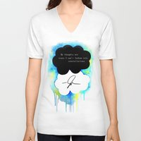the fault in our stars V-neck T-shirts featuring The Fault in Our Stars by Awful Artist