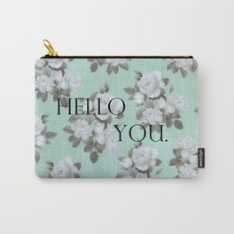 Hello You. Carry-All Pouch