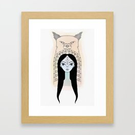 La Lona Framed Art Print