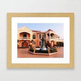 Manor House Framed Art Print