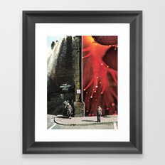 a day like any other Framed Art Print