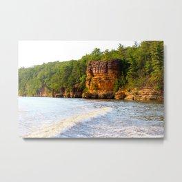 Wisconsin Dells Metal Print