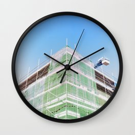 Andamiaje Wall Clock