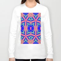 psychedelic art Long Sleeve T-shirts featuring Psychedelic  by 2sweet4words Designs