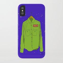 """Alone Shirt""  iPhone Case"