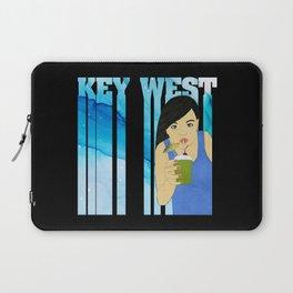 Drink Up in Key West Laptop Sleeve