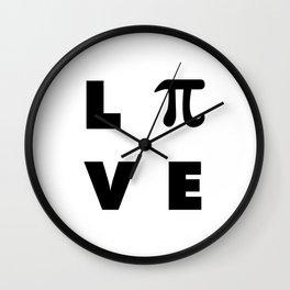 Love Pi Wall Clock