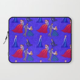 The Princess and the Con Man Laptop Sleeve