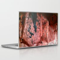 geology Laptop & iPad Skins featuring Copper Sheet by Whimsy Notions Designs