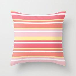 Sandy Rays Throw Pillow