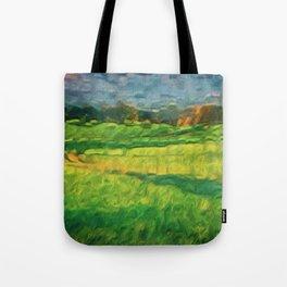 Division Landscape Tote Bag