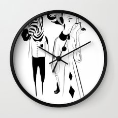 Breathe me - Emilie Record Wall Clock