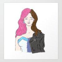 Jessica Jones A.K.A. Jewel Art Print
