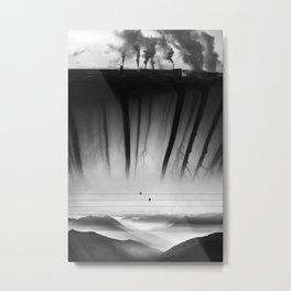 Bad Kingdom Black And White Metal Print