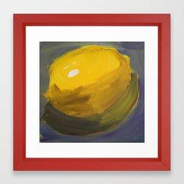 What a Lemon Framed Art Print