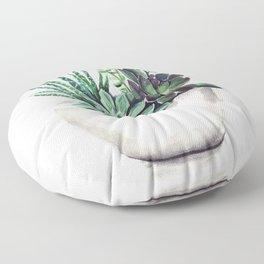 Succulents Floor Pillow