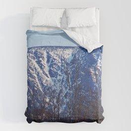 Mountain Crevasses Comforters