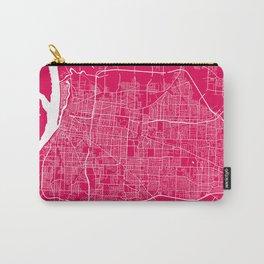 Memphis map rapsberry Carry-All Pouch