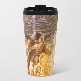 Vasari Fresco, Brunelleschi Cupola, Florence Duomo Travel Mug