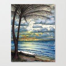 Kauai Sunrise Canvas Print
