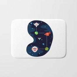Overworld: Space Bath Mat