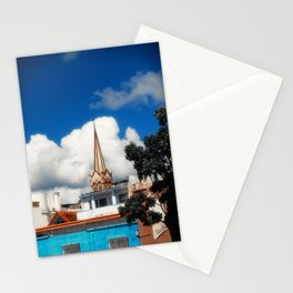 Church in Old City Stationery Cards
