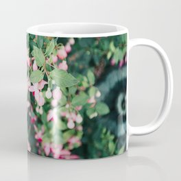 Fuchsia Hybrida Pink Flower Print Coffee Mug