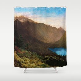 Mount Lafayette - Franconia Notch, New Hampshire by Thomas Hill Shower Curtain