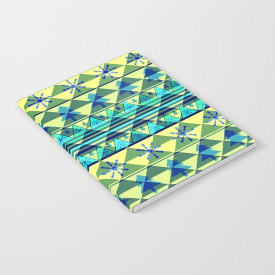 Christmas pattern III Notebook