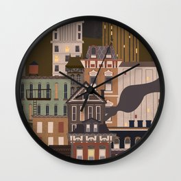 Cincinnati Amour Wall Clock