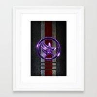 n7 Framed Art Prints featuring N7 Paragade/Renagon by Toronto Sol