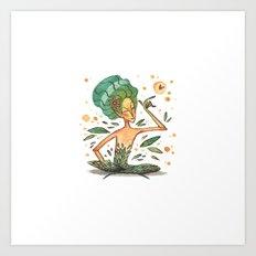 Summer Fairy Art Print