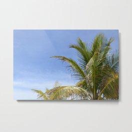 Postcard Paradise 2 Metal Print