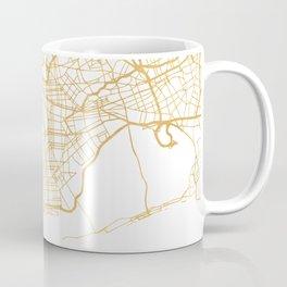 NEW YORK CITY NEW YORK CITY STREET MAP ART Coffee Mug