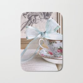 Teacup & Ribbon Bath Mat