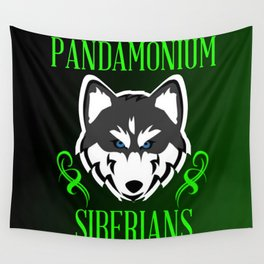 Pandamonium Siberians  Wall Tapestry