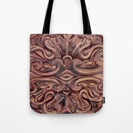 Rosette Medallion Tote Bag