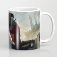 league of legends Mugs featuring League of Legends by KatharinaBrand