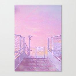 Miyazaki First Light Canvas Print
