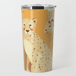 Cheetah, African Wildlife Travel Mug