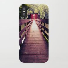 Let's Take the Long Road iPhone X Slim Case