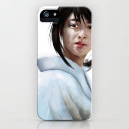Kaoru Kamiya Fanart (Emi Takei Samurai X Live Action) iPhone Case