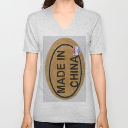 Made In China Unisex V-Neck