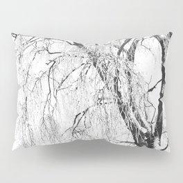 White snow tree Pillow Sham