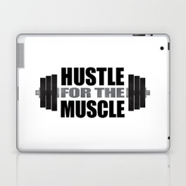 Hustle For The Muscle Laptop & iPad Skin